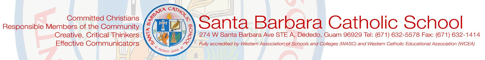 Santa Barbara Catholic School • Guam | 70 years of educating mind, heart, and spirit!